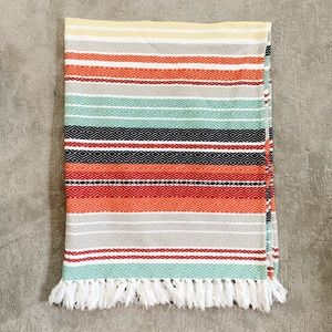 Other - Colorful Boho Throw Blanket